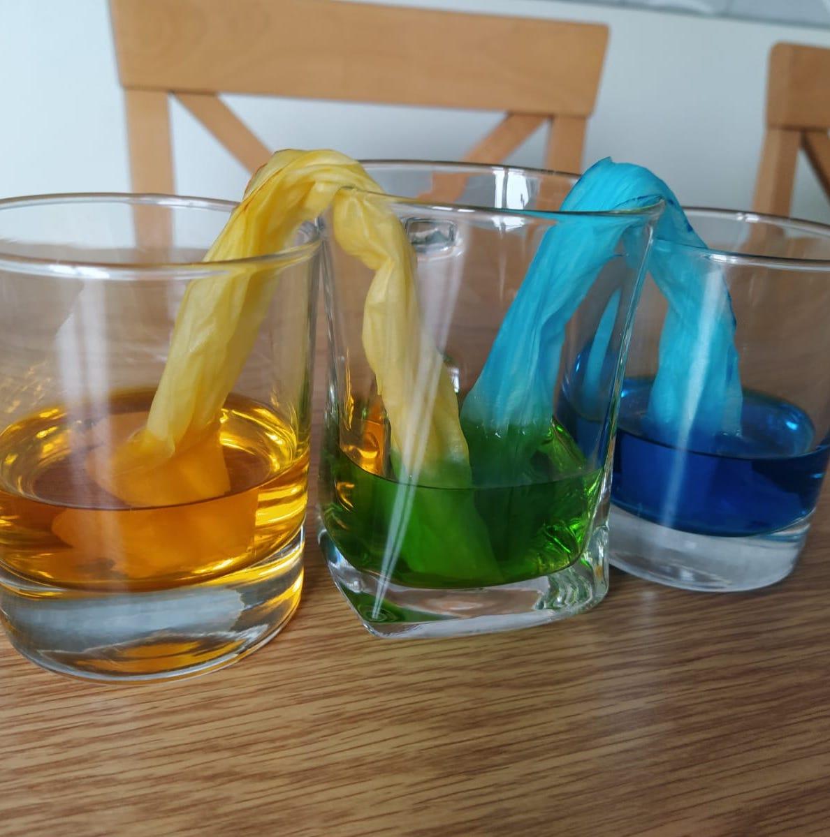 Barvy duhy – téma prvního týdne školky na dálku
